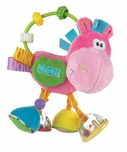 Playgro 0183303 Toy Box Clopette Activity Rattle Pink for Ba