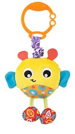 Playgro 0186972 Wiggling Bertie Bee STEM Toy, Multi