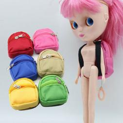 1 Pc Fashion fun Manual Dolls Bag Accessories Backpack Toys