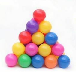 100pcs 5.5cm Fun Soft Plastic Ocean Ball Swim Pit Toys Baby