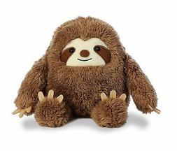 11 Inch Three Toed Sloth Plush Stuffed Animal by Aurora