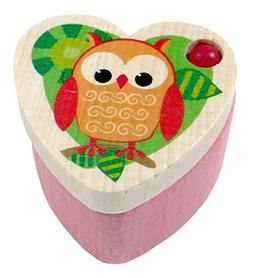 Hess 14359 Polypropylene Owl Toothfairy Box Baby Toy, 3.5 cm