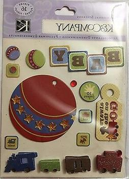 1441 K&COMPANY 3D Stickers - BABY, ALWAYS ON THE GO, TOYS -