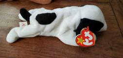 1993 SPOT The Black & White Dog Beanie Baby Plush Babies Toy