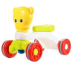 Ride-on Baby Walker Children for Early Development Bear Car Kids Xmas Toy