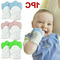 1PCS Baby Silicone Mitts Teething Mitten Glove Candy Wrapper