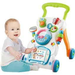 2 In 1 Baby Sit To Stand Walker Kids Activity Center Toddler