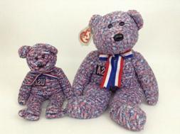 2002     Ty Beanie Buddies         U.S.A. Bear   U.S.A on ch