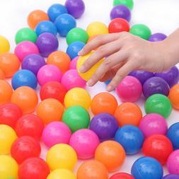 200pcs 5.5cm Fun Soft Plastic Ocean Ball Swim Pit Toys Baby