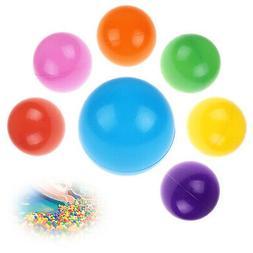 200pcs Soft Plastic Balls Children Pit Kids Colourful Toys P