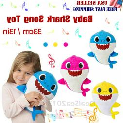 2019 baby shark plush singing plush toys