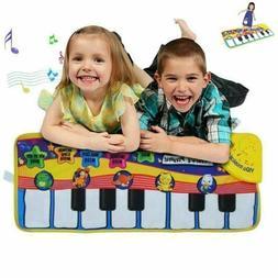2019 Musical Music Kid Piano Play Baby Mat Animal Educationa