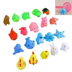 20x baby bath toys float spray water