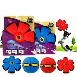 22cm Flying UFO Flat Throw Disc Ball Toy Kids Outdoor Fancy