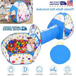 3 In 1 Portable Kids Children Ball Pit Pool Play Tent For Ba