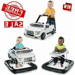 Bright Starts 3 Ways to Play Walker - Ford F-150, White, Age