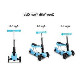 3-Wheel Kick Scooter For Kids Toddler Baby Toy Play Outdoor