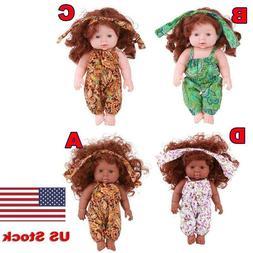 30cm Handmade Baby Silicone Artificial Doll Girl Kids Intera