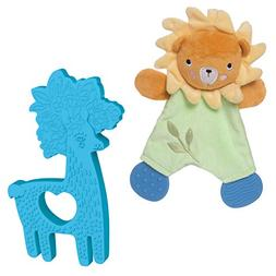 Manhattan Toy 324000 Safari Lion Lovie and Animal Shapes Lla