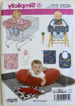 Simplicity 4225 Baby Quilt High Chair Shopping Cart Cover To