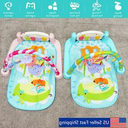 5 In 1 Multifunctional Baby Infant Activity Gym Play Mat Mus