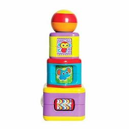 6385464 activity stacking tower for baby infant