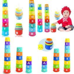 8Pcs Educational Baby Boy Infant Toys 6Month+ Figures Letter