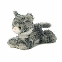 Aurora Lily Grey White Mini Flopsie Kitten #31713 Stuffed An