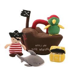 BABY GUND  - MY LITTLE PIRATE SHIP  - 5 PIECE PLAYSET - SHAR