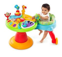 Bright Starts 3-in-1 Around We Go-Activity Station, Baby Wal