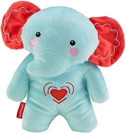 Fisher-Price Calming Vibrations Cuddle Soother, Blue Elephan