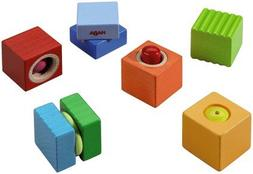 HABA Fun with Sounds Wooden Discovery Blocks with Acoustic S