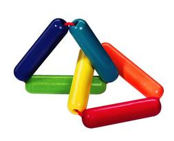 HABA Triangles Wooden Clutching Toy & Teether