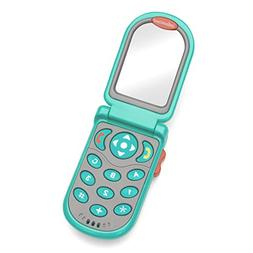 Infantino Flip and Peek Fun Phone, Teal