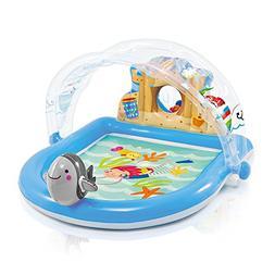 "Intex Summer Lovin' Beach Play Center Pool, 67"" x 59"" x 32"","