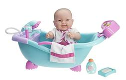 JC Toys Lots to Lots to Love Baby Doll Real Working Bathtub