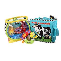 Lamaze Baby Toys Bundle #2 - Award Winning Set of 3. Fish Bo