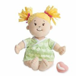 Manhattan Toy Baby Stella Blonde Soft First Baby Doll for Ag