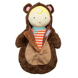 Manhattan Toy Snuggle Baby Doll & Hooded Bear Sleep Sack