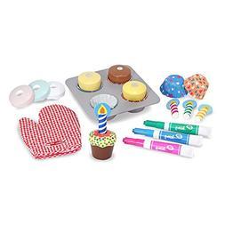 Melissa & Doug - Bake & Decorate Cupcake Set