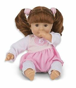 Melissa & Doug Mine to Love Brianna 12-Inch Soft Body Baby D