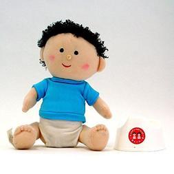 Once Upon A Potty Plush Doll Set With Mini-Potty - Boy