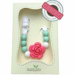 Pacifier Clip - 2 in 1 - Modern and Trendy - Teething Baby S
