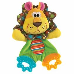 Playgro 0183152 Roary the Lion Teething Blankie for Baby
