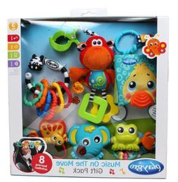 Playgro Music on the Move Gift Pack for baby infant toddler