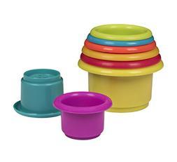 Playkidz: Rainbow Stacking & Nesting Cups Baby Building Set.