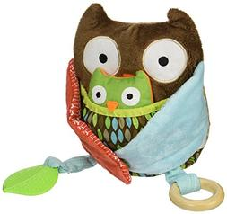 Skip Hop Baby Treetop Friends Hug-and-Hide Wise Owl Activity