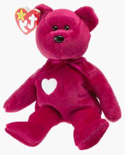 "TY Beanie Baby VALENTINA Bear Valentine Day Heart Teddy 8"""