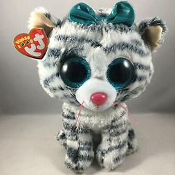 "TY Beanie Boos ~ QUINN the 8-9"" Medium Plush Cat - Claire's"