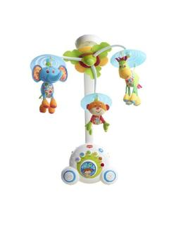Tiny Love Soothe 'n Groove Mobile, Blue 0-24 months